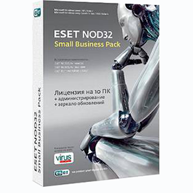 В корзину ESET NOD32 Small Business Pack. Электронная лицензия онлайн