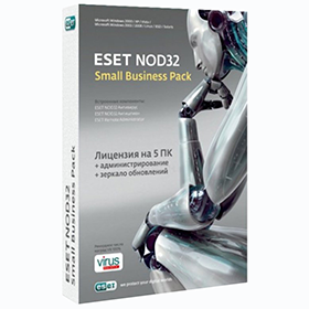В корзину Продление ESET NOD32 Small Business Pack. Электронная лицензия онлайн